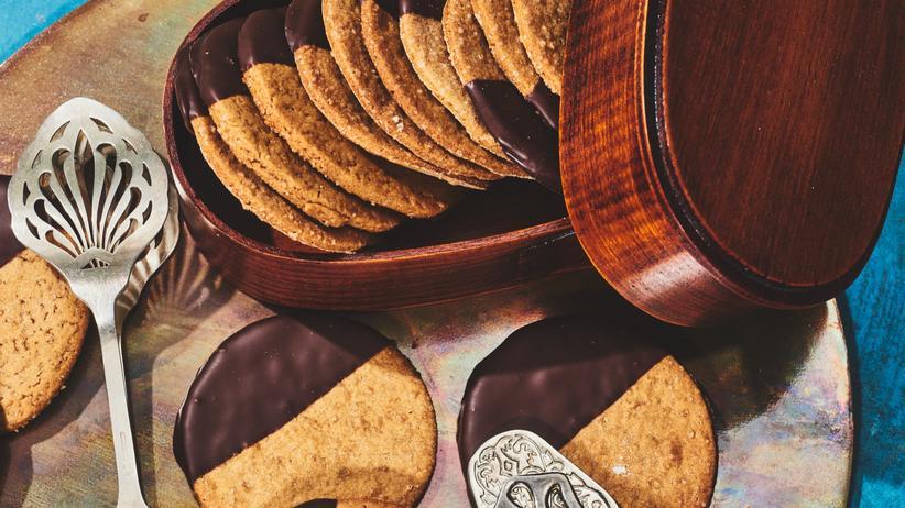 Ingwer-Schokoladen-Plätzchen: Kekse gegen den Stress