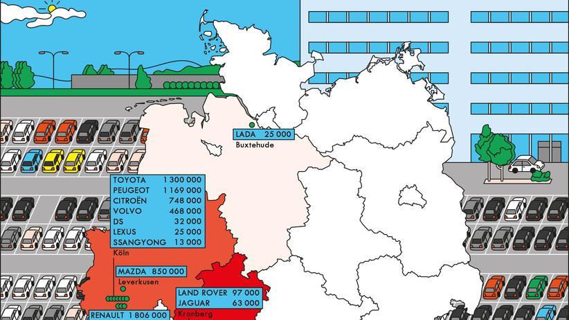 Deutschland: Nach Köln wollen sie alle