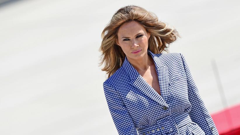 Melania Trump: Freundinnen on fire