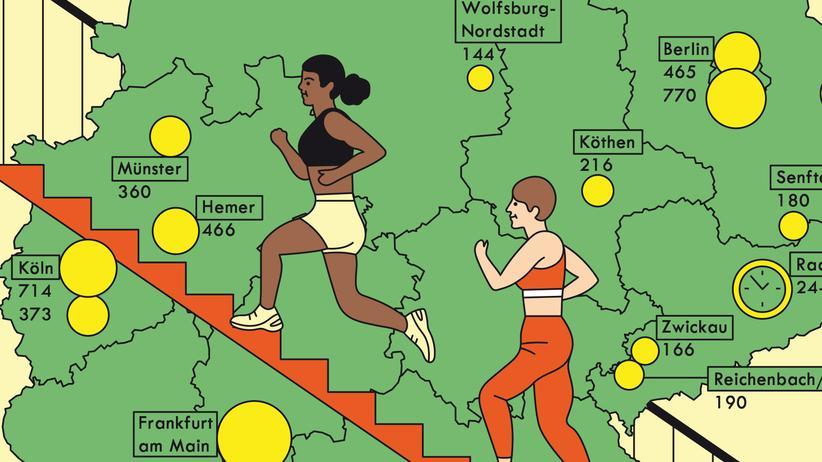 Deutschland: Fahrstuhl? Ich doch nicht