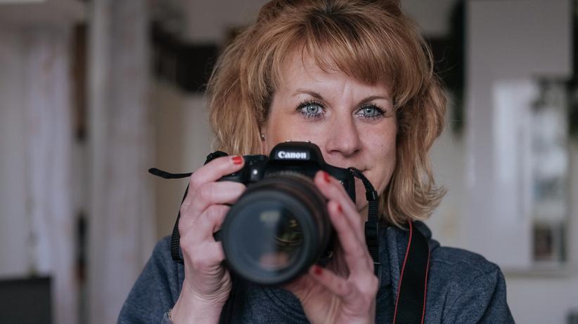 Sternenkinder: Ihre erste Kamera schenkten ihr ihre Eltern, als sie zehn Jahre alt war. Heute arbeitet Katrin Titze neben ihrer Tätigkeit in einer Berliner Behörde als freiberufliche Fotografin.