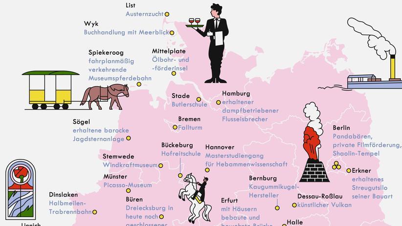 Deutschland: Einzigartig eigenartig