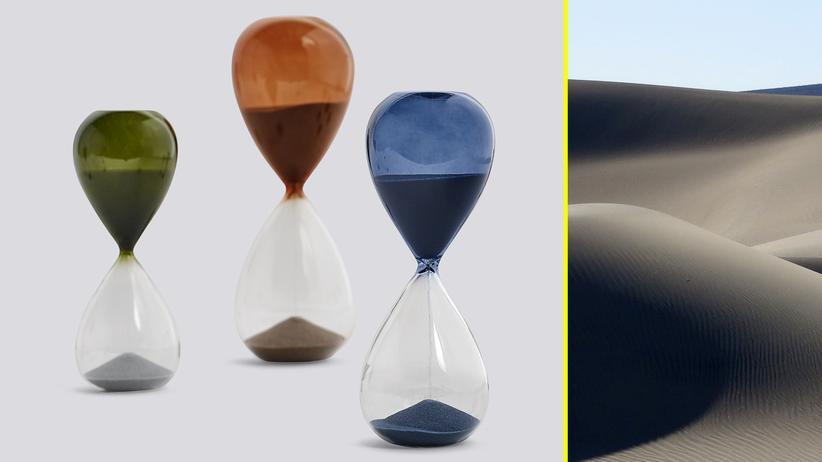 Sanduhren: Leise rieselt die Zeit