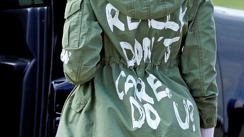 Melania Trump: Is mir egal