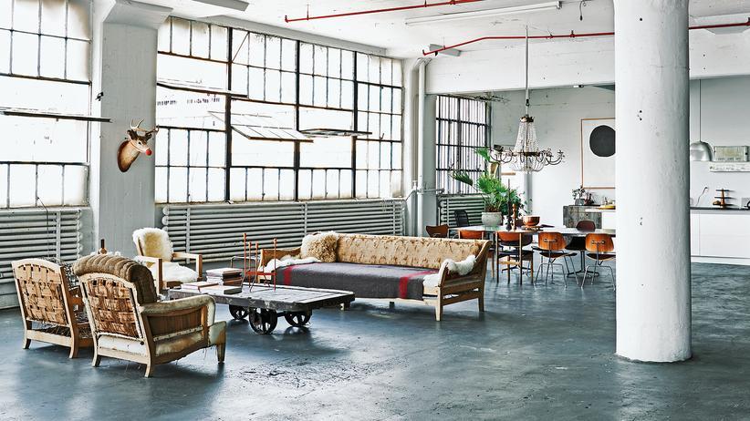 Industriedesign: Wie die Werkstatt Wohnung wird