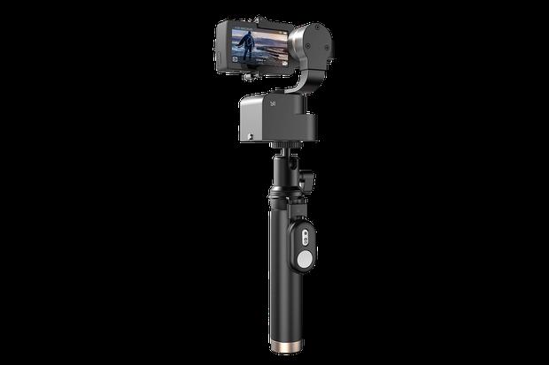 Action-Handkamera: Mirko Borsche dreht mit einer ganz kleinen Kamera ganz scharfe Filme