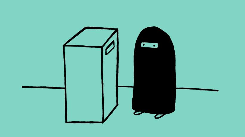 Harald Martenstein: Burkas zu Briefkästen