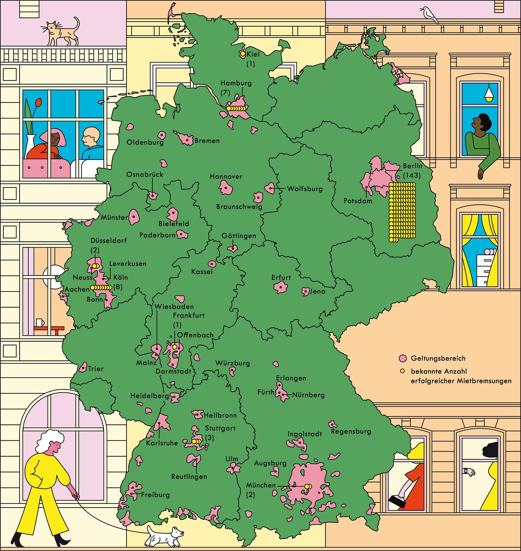 Deutschland: Mietpreisbremse