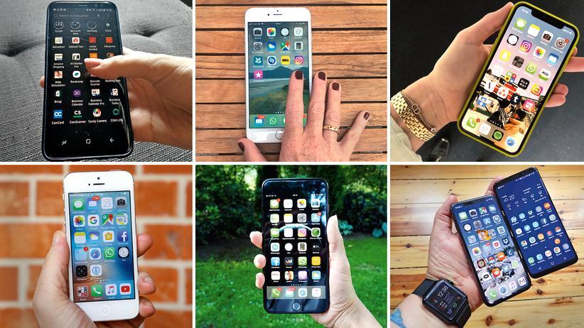 Smartphone: Mein telefonisches Leben