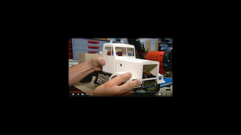 Modellbau: Das Paradies ist eine Müllschreddermaschine