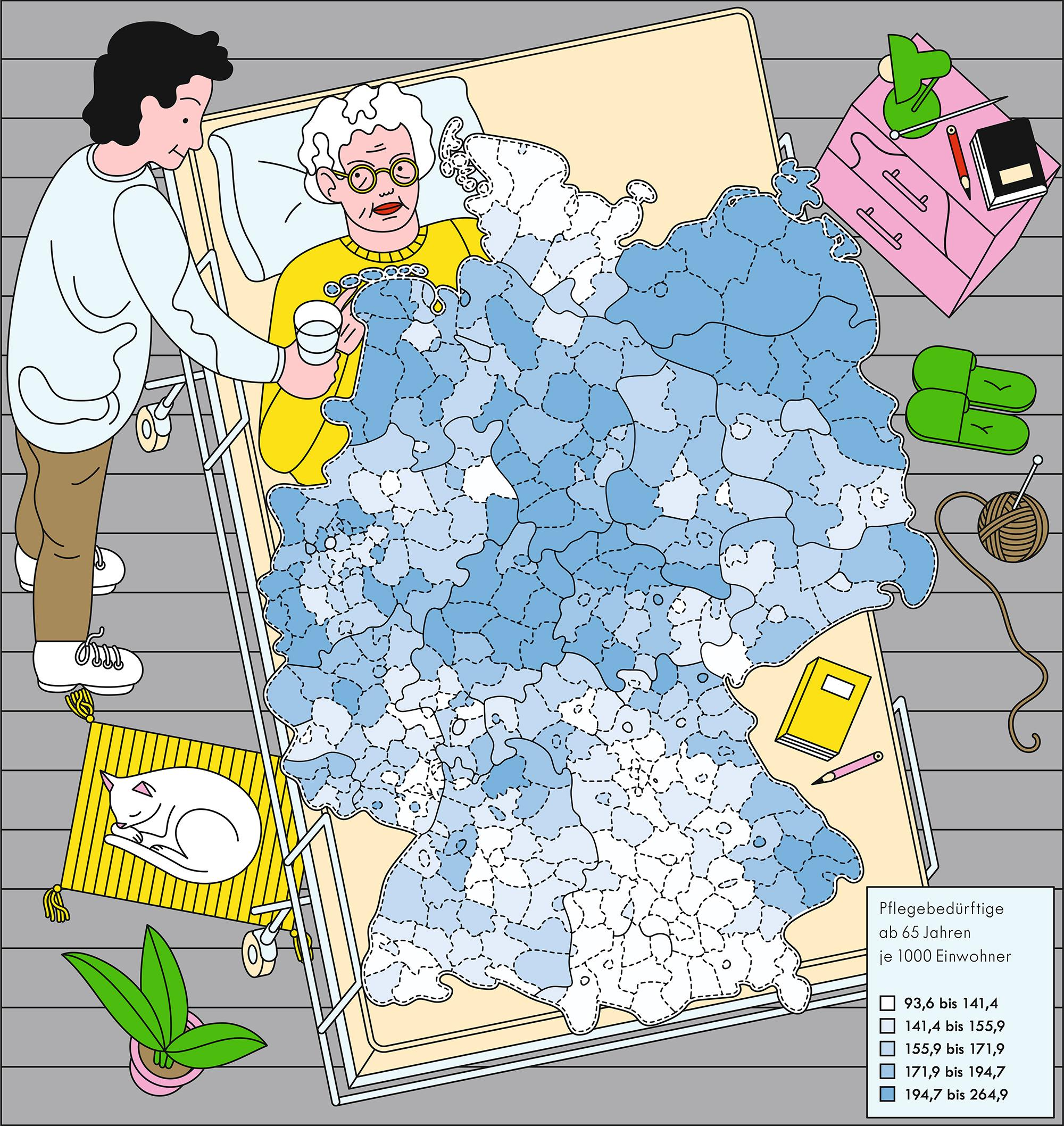 Altenpflege: Pflegebedürftige