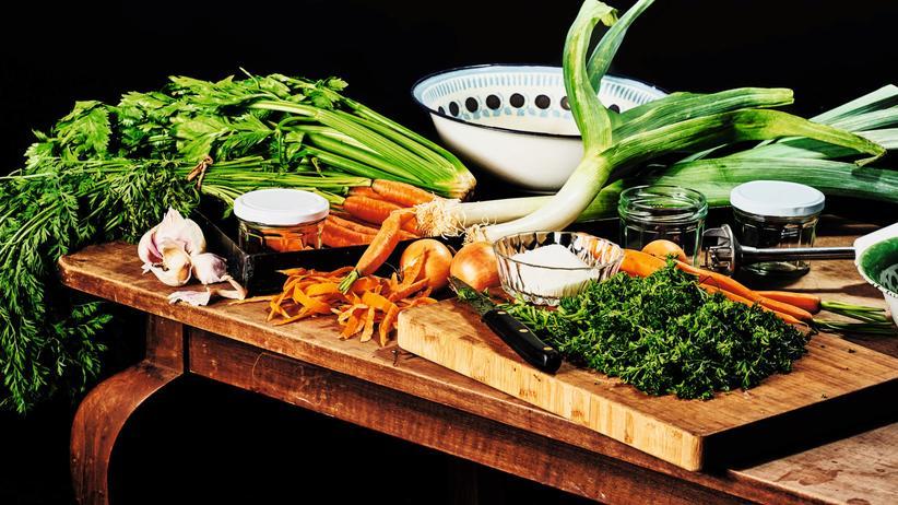 Gemüsebrühe: Gegen die Würfel!