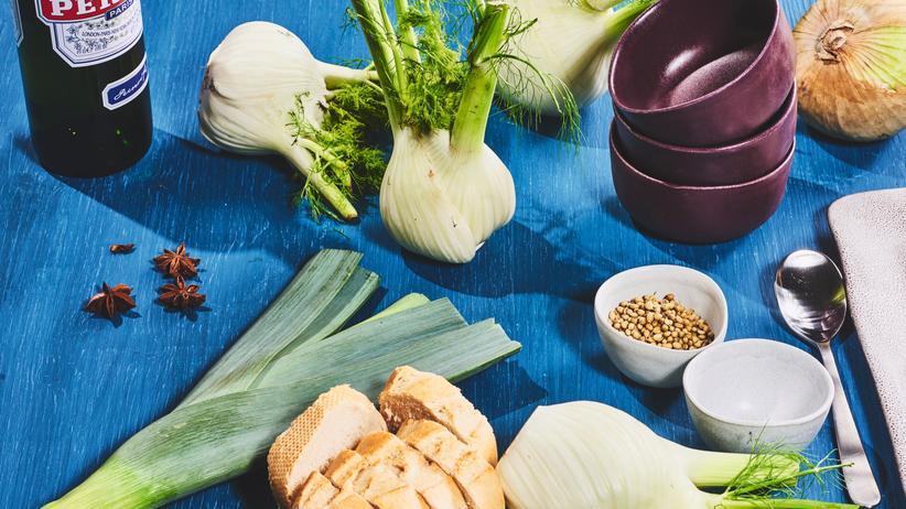 Fenchelsuppe mit Pastis: Das Savoir vivre beginnt mit der Vorspeise