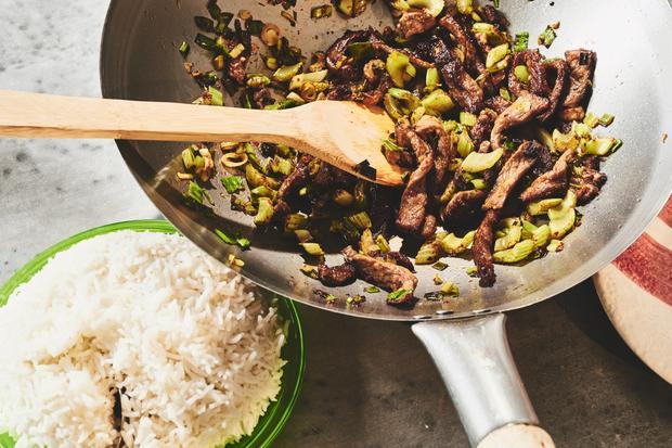 Rindfleisch mit Sellerie: Prominenter Sellerie
