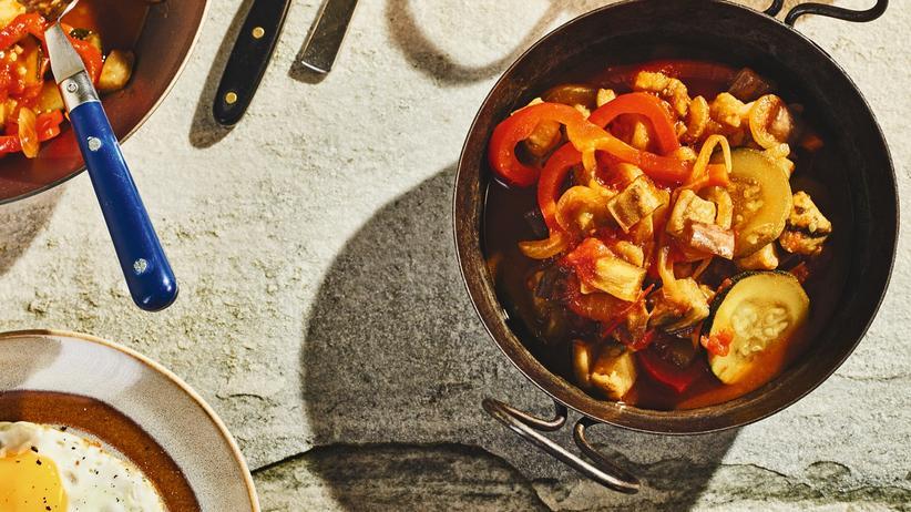 Ratatouille mit Safran: So schmilzt das Gemüse im Mund