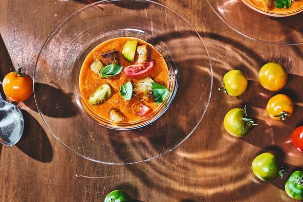 Gazpacho: Abkühlung aus dem Suppenteller