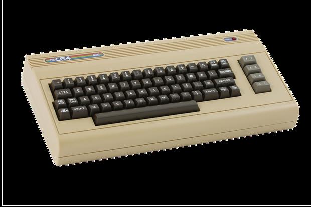 The C64 Mini: Mirko Borsche fühlt sich an einem Spiele-Computer in seine Jugend zurückversetzt