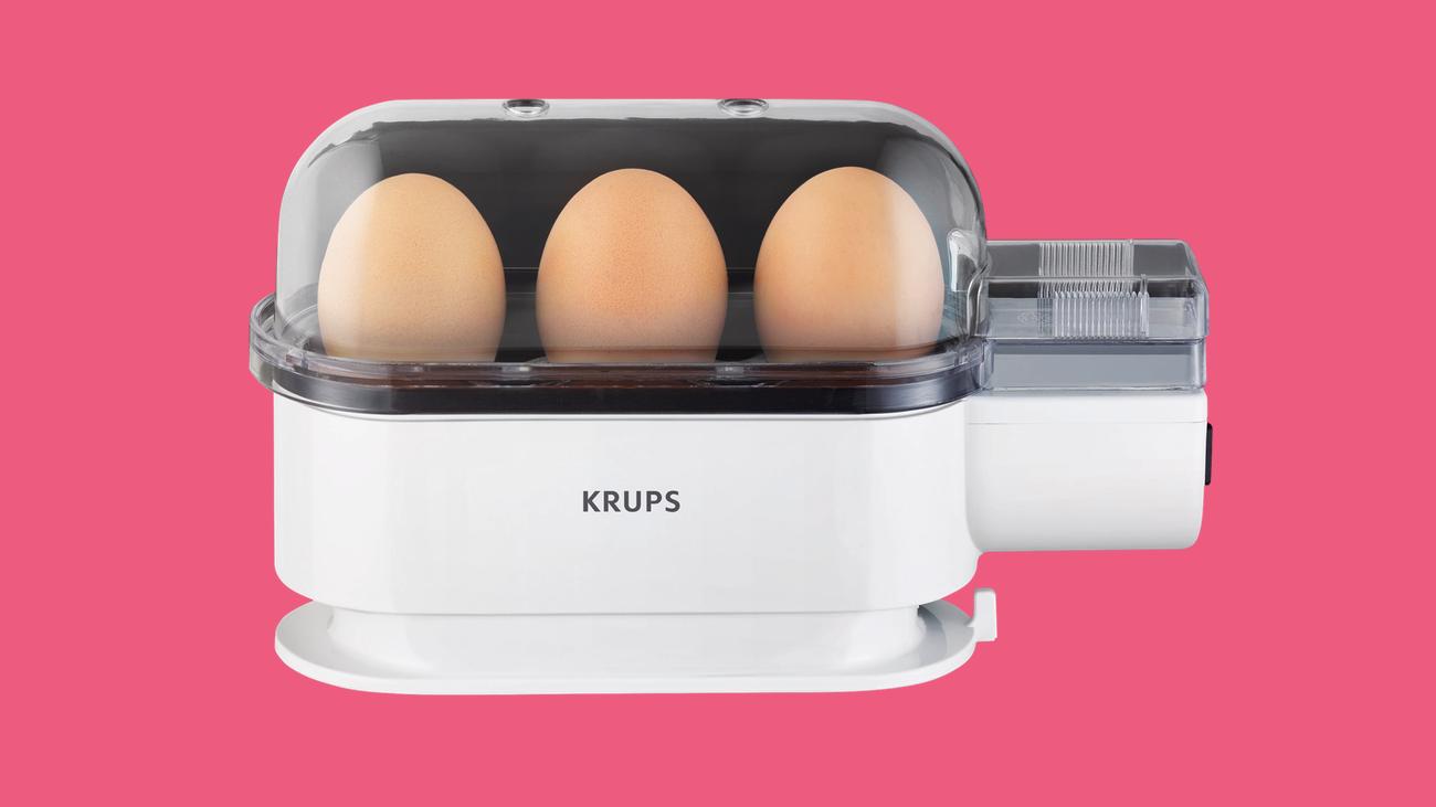 Eierkocher mirko borsche kocht perfekte weiche eier - Eier hart kochen zeit ...