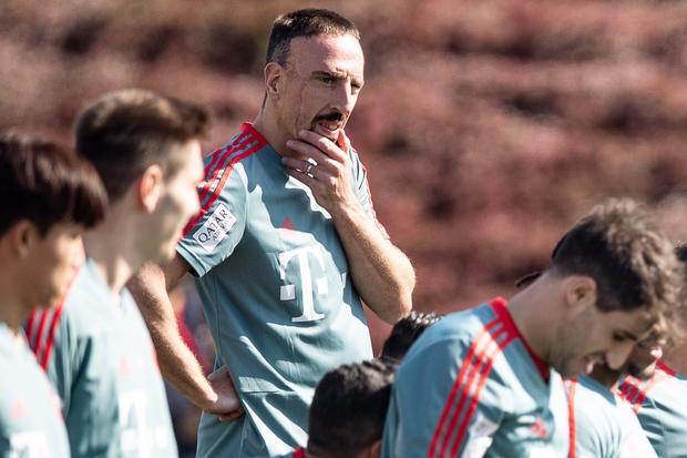 Franck Ribéry: Reden ist Silber, Essen ist Gold
