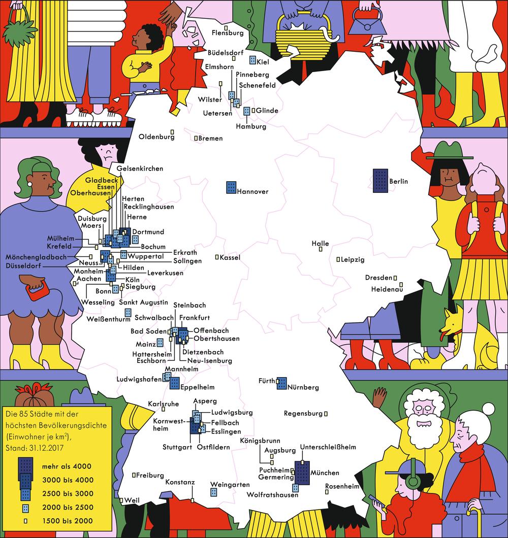 kleinste stadt deutschland
