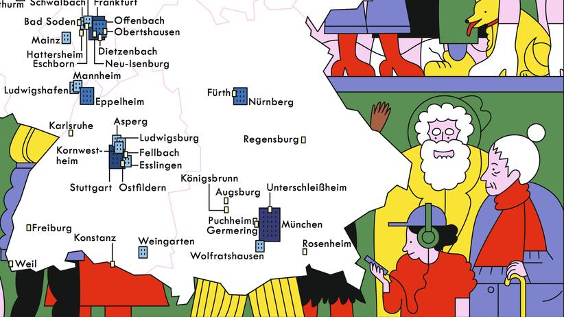 Bevölkerungsdichte: Die engsten Städte