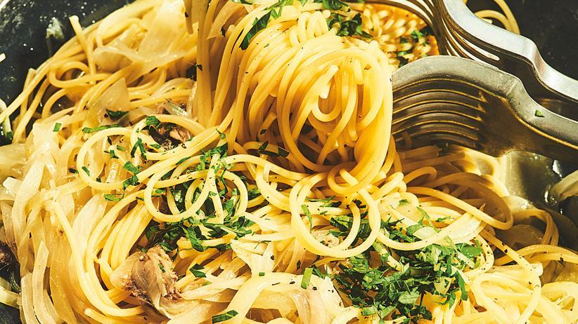 Spaghetti Sardellen: Und immer wieder Italien