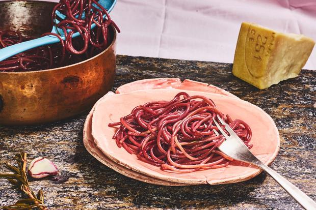 Betrunkene Spaghetti (Spaghetti all'ubriaco)