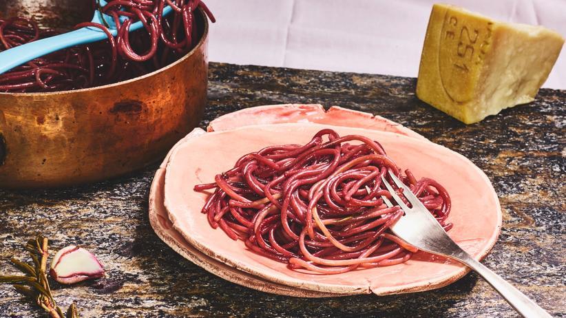 Spaghetti: Betrunkene Pasta