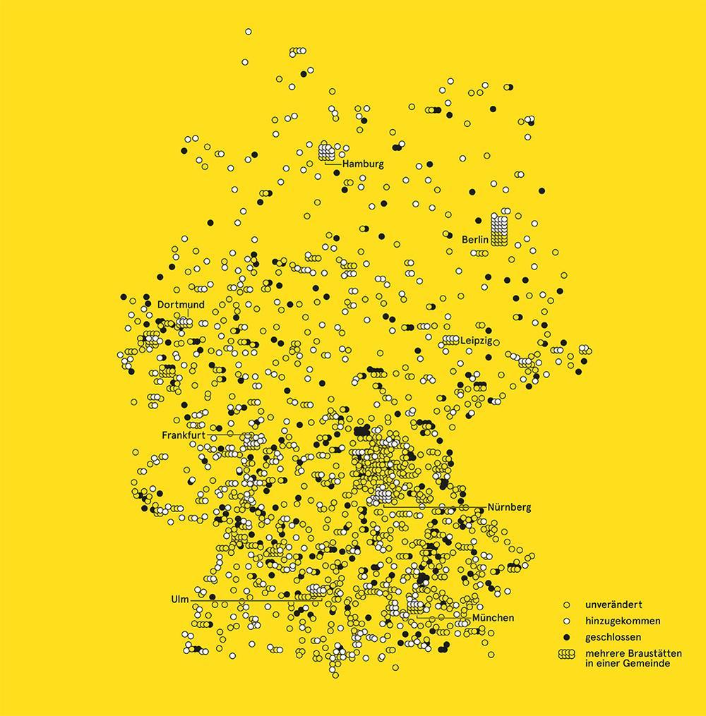 brauereien in deutschland karte Deutschland: Brauereien | ZEITmagazin