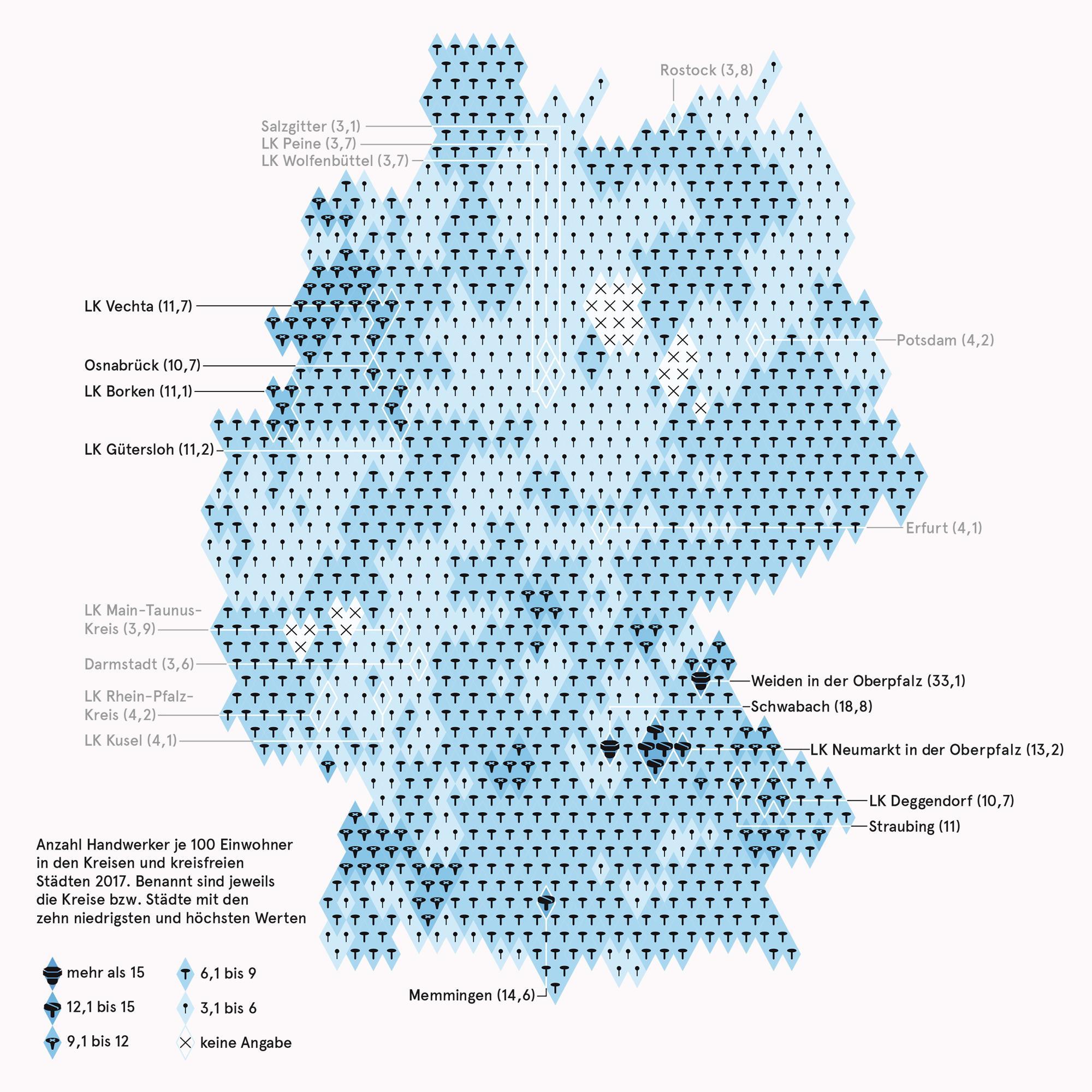 Deutschland: Handwerker