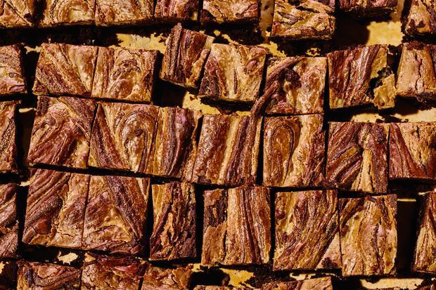 Brownies mit Sesampaste: Schokolade, zum Schmelzen schön