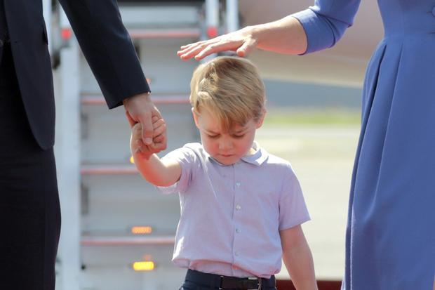 Prinz George: Über Eltern-Kind-Gespräche