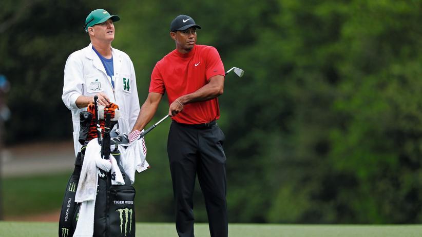Tiger Woods: Chill mal, Tiger