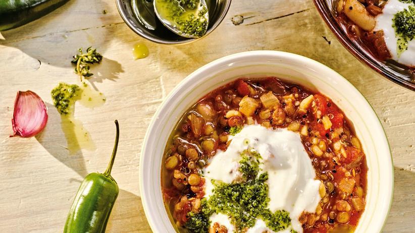 Chili sin Carne: Quinoa statt Hackfleisch