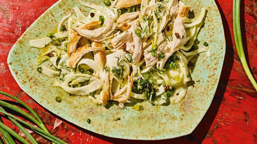 Fenchelsalat mit Huhn: Mit Marie Kondō durchs Gewürzregal