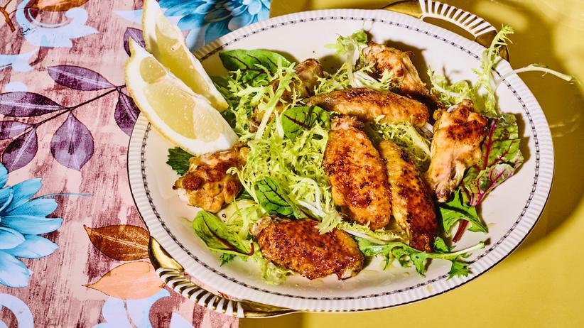 Chickenwings: Dieses Huhn ist echt kein Käse
