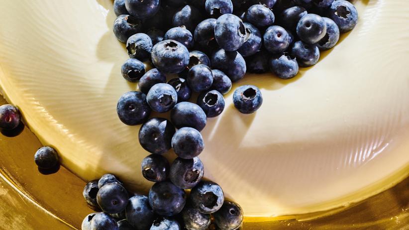 Pudding mit Heidelbeeren: Immer schon Superfood