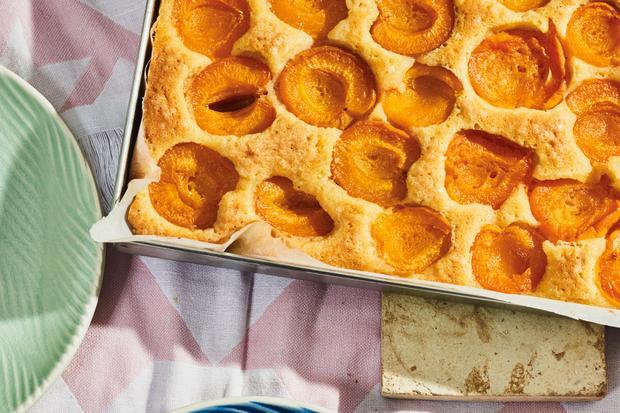 Aprikosenkuchen: