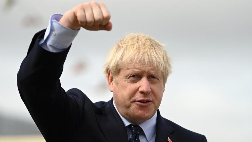 Boris Johnson: Immerhin grün