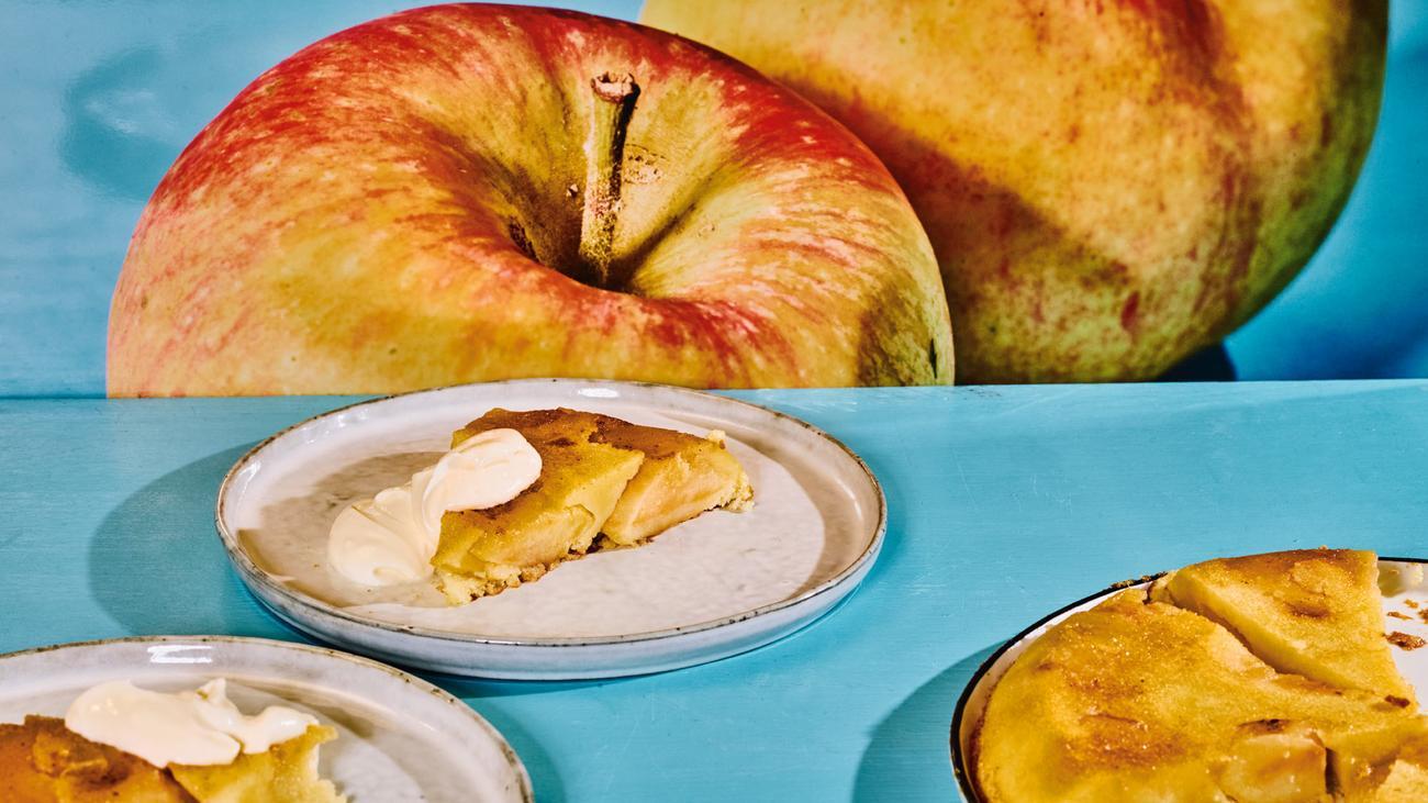Apfelkuchen: Ein herrlich chaotischer Kuchen
