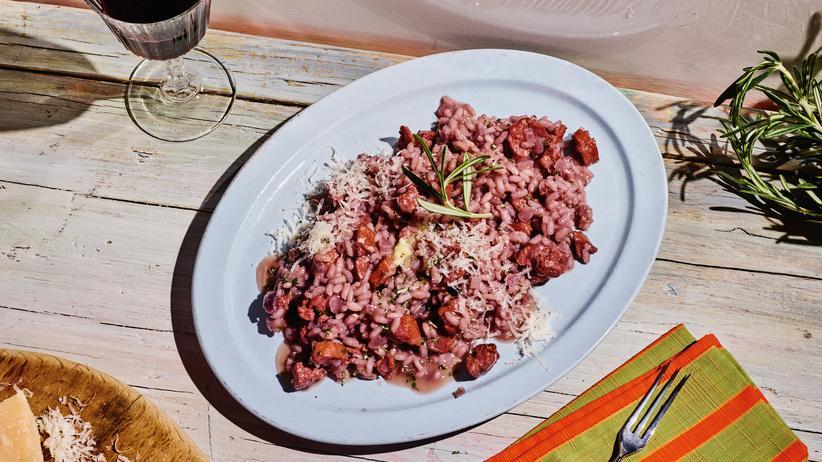 Risotto mit Salsiccia: Wer Risotto kann, kann zufrieden sein