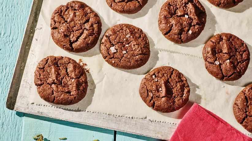 Schokoladenkekse mit Kardamom: Sehr erwachsene Kekse