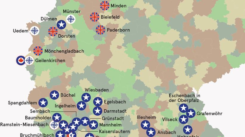 Militär-Standorte: Er kam nur bis Ramstein-Miesenbach