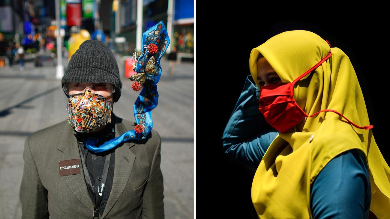Mundschutz: Eine Maske fürs Leben