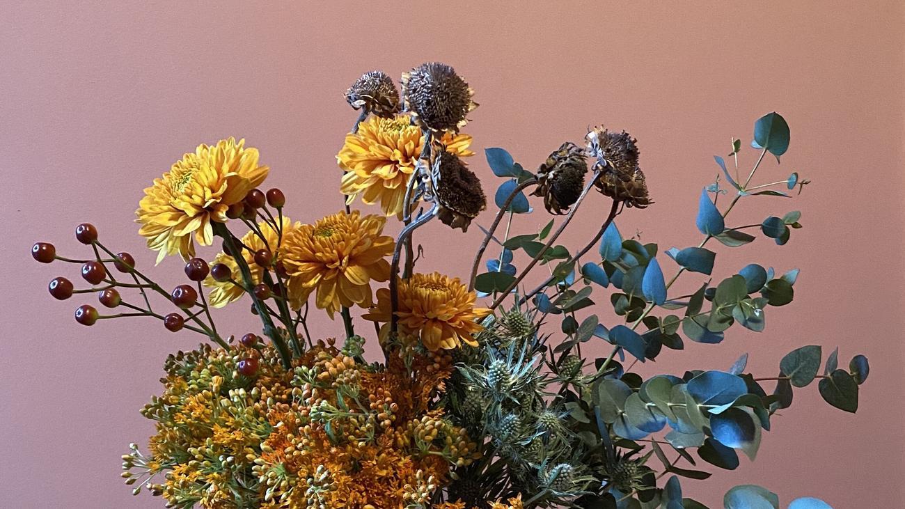Trockenblumen: Der Sommer, konserviert in der Vase