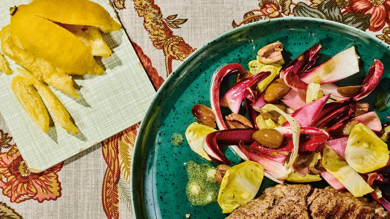 Wintersalat mit Salzzitrone: Ein intensiver Salat