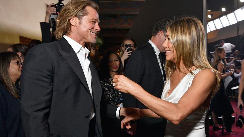 Brad Pitt und Jennifer Aniston: Müsste Liebe schön sein