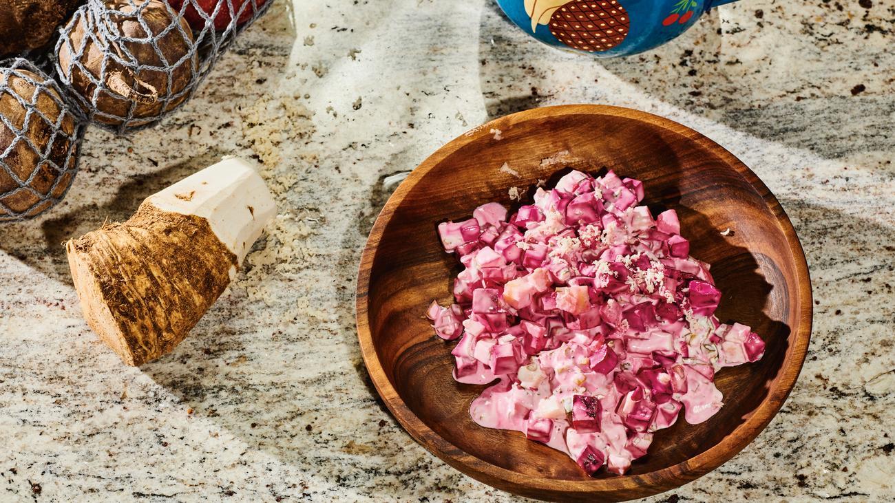 Rote-Bete-Salat: Rote Bete auf Schwedisch