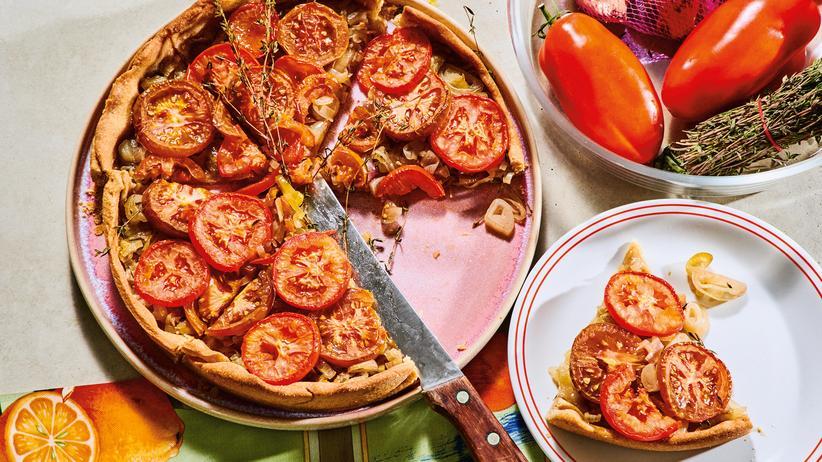 Tomatentarte: Besser als Pizza