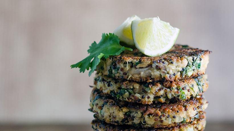 Sesam-Quinoa-Thunfisch-Bratling